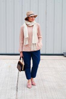 Лоферы женские розовые замшевые