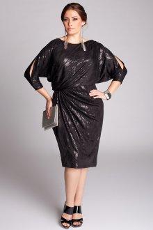 Платье для женщин с животом блестящее