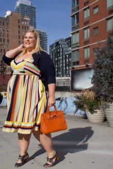 Платье для женщин с животом большим