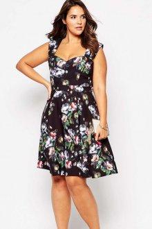 Платье для женщин с животом с цветами