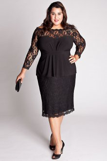 Платье для женщин с животом кружевное