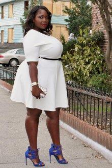 Платье для женщин с животом мини