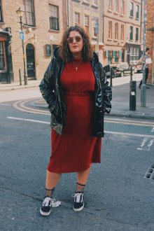 Платье для женщин с животом модное