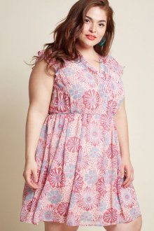 Платье для женщин с животом пастельное
