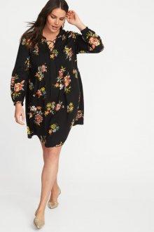 Платье для женщин с животом с принтом