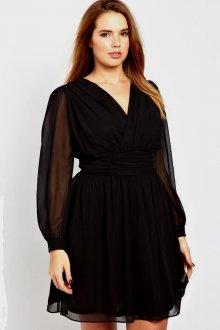 Платье для женщин с животом и рукавами