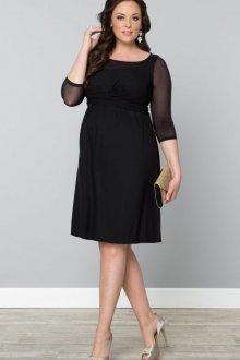 Платье для женщин с животом и завышенной талией