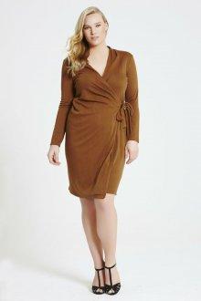 Платье для женщин с животом на запах