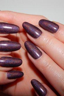 Маникюр на длинные ногти перламутровые