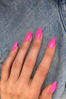 Маникюр на длинные ногти яркие