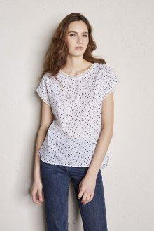 Блузка с коротким рукавом летняя