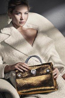 Золотая сумка элегантная
