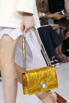 Золотая сумка кожаная