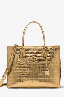 Золотая сумка под крокодила