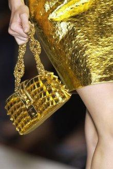Золотая сумка мини