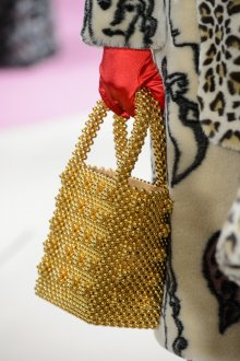 Золотая сумка модная