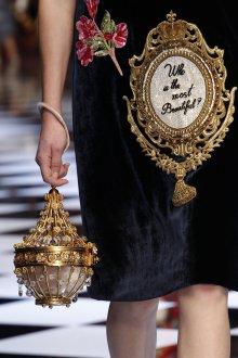 Золотая сумка необычная