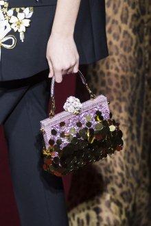 Золотая сумка с пайетками