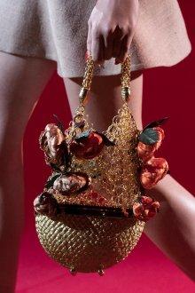Золотая сумка плетеная