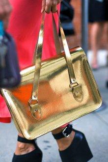 Золотая сумка простая