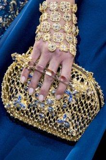 Золотая сумка вечерняя