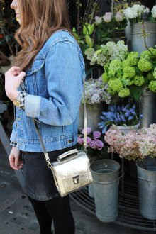 Золотая сумка женская