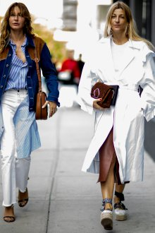 Белые женские брюки с бахромой летние