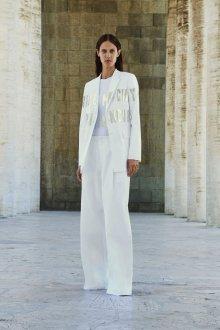 Белые женские брюки длинные