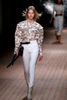 Белые женские брюки дудочки