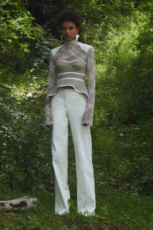 Белые женские брюки хлопковые