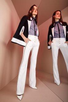 Белые женские брюки со средней посадкой