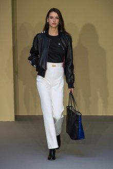 Белые женские брюки прямого кроя