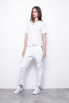 Белые женские брюки штаны