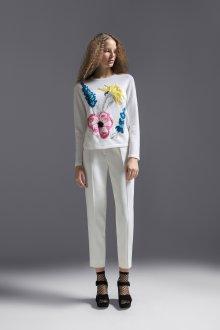 Белые женские брюки тенденции