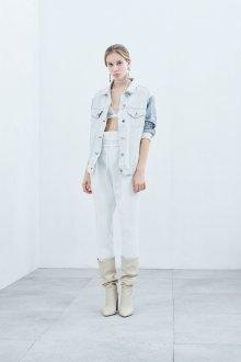 Белые женские брюки тренды