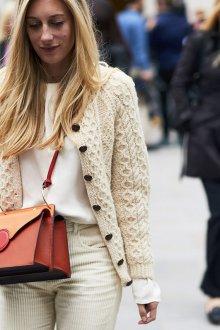 Белые женские брюки вельветовые