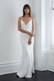 Платье на бретелях в бельевом стиле