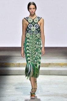 Платье на бретелях этническое