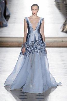 Платье на бретелях голубое