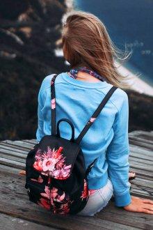 Рюкзак для подростков цветочный