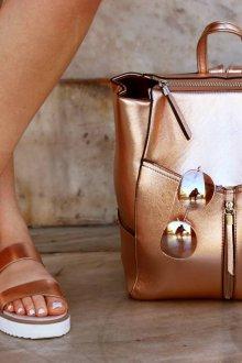 Рюкзак для подростка металлик