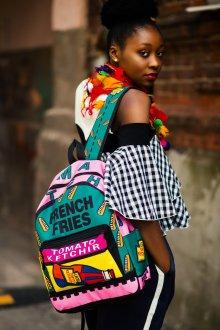 Рюкзак для подростка с надписями