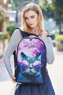 Рюкзак для подростка с принтом
