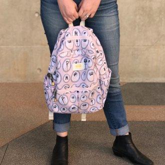 Рюкзак для подростка розовый