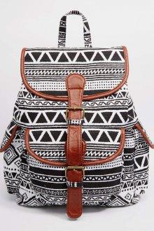 Рюкзак для подростка тканевый с узором