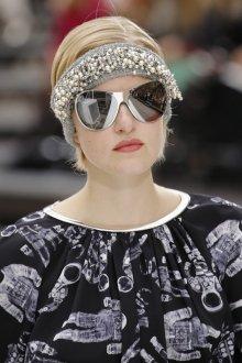 Зеркальные очки Chanel