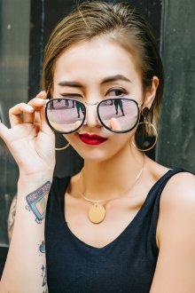 Зеркальные очки комбинированные