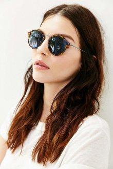 Зеркальные очки красивые