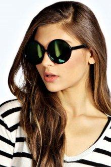 Необычные очки с зеркальным покрытием