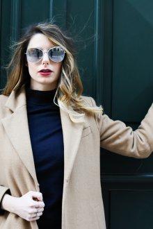 Зеркальные очки с чем носить
